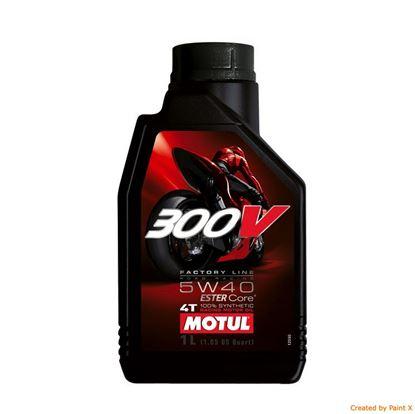 MOTUL 300V 4T 5w40 Factory Line motorolja