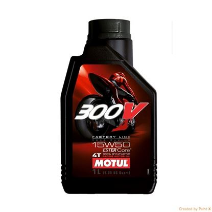 MOTUL 300V 4T 15w50 Factory Line motorolja